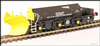Hattons H4-BH-009 Beilhack snow plough (ex Class 40) ZZA ADB965578 in Network Rail black